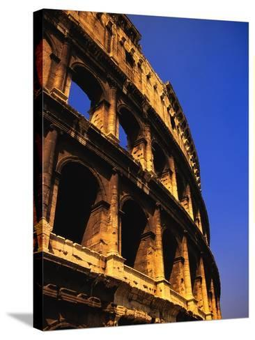 Close-Up View of the Colosseum-Bob Jacobson-Stretched Canvas Print