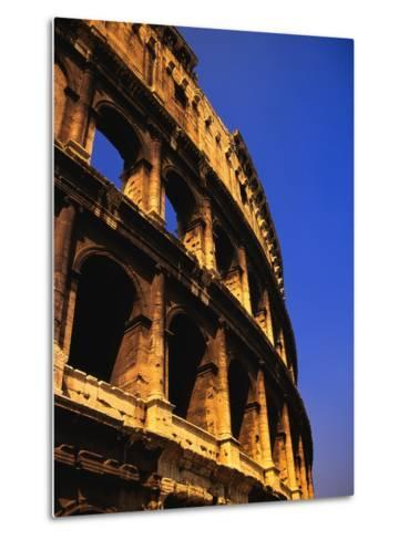 Close-Up View of the Colosseum-Bob Jacobson-Metal Print