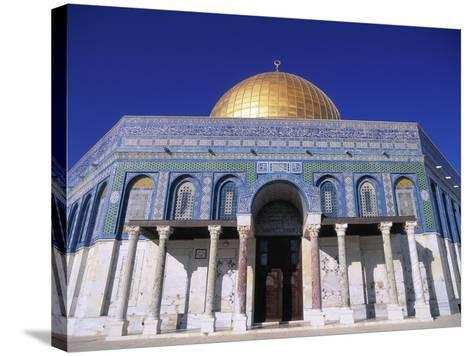 Exterior and Front View of Dome of the Rock-Jim Zuckerman-Stretched Canvas Print