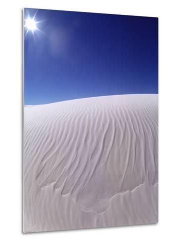 Sun Shining on Desert Sand-Jim Zuckerman-Metal Print
