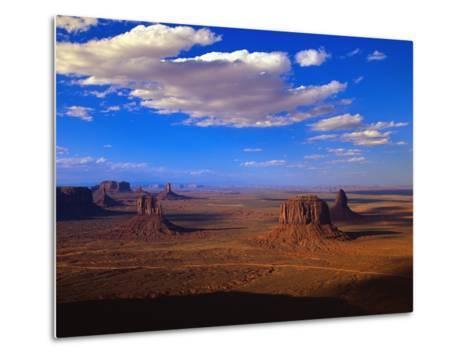 Aerial View of Monument Valley-Joseph Sohm-Metal Print