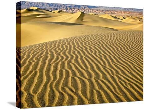 Sand Dunes-Owaki - Kulla-Stretched Canvas Print