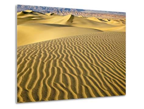 Sand Dunes-Owaki - Kulla-Metal Print