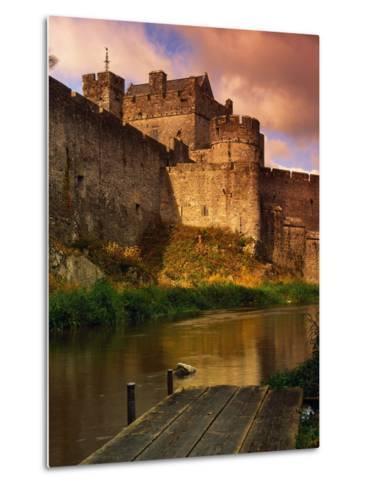 River Suir Around the Cahir Castle-Richard Cummins-Metal Print