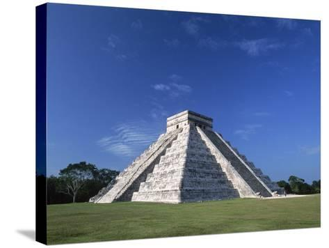 The Pyramid of Kukulkan-Danny Lehman-Stretched Canvas Print