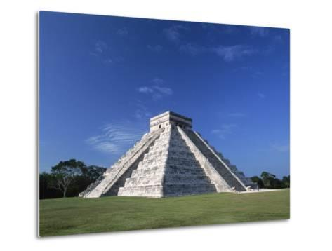The Pyramid of Kukulkan-Danny Lehman-Metal Print