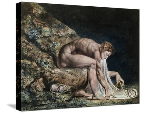Newton-William Blake-Stretched Canvas Print