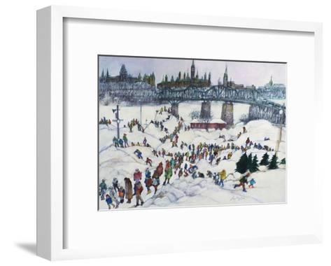 Winterlude, Pirovik - Ottawa-Hull, Canada-Franklin McMahon-Framed Art Print
