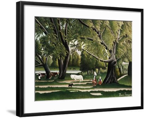 Summer-Henri Rousseau-Framed Art Print