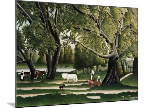 Summer-Henri Rousseau-Mounted Giclee Print