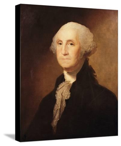 George Washington-Gilbert Charles Stuart-Stretched Canvas Print