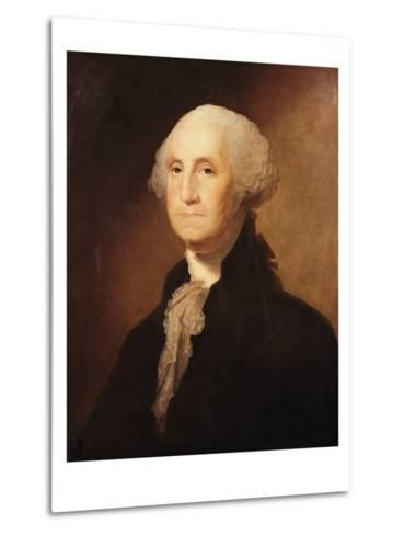 George Washington-Gilbert Charles Stuart-Metal Print