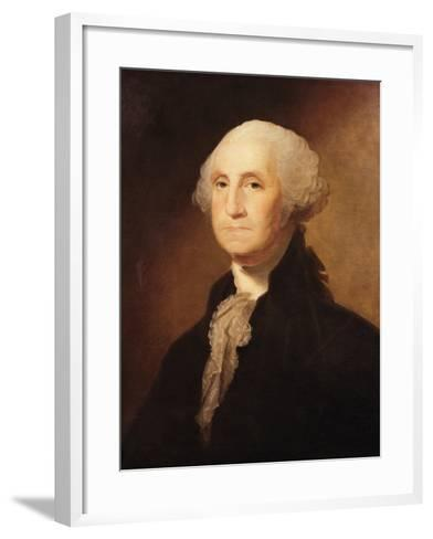 George Washington-Gilbert Charles Stuart-Framed Art Print