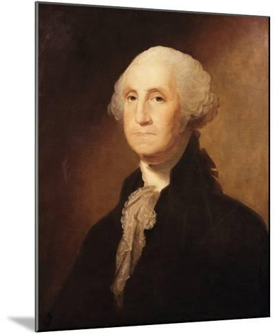 George Washington-Gilbert Charles Stuart-Mounted Giclee Print
