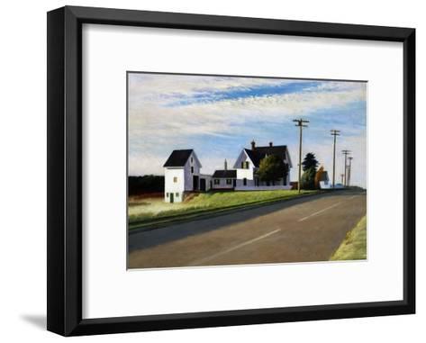 Route 6, Eastham-Edward Hopper-Framed Art Print