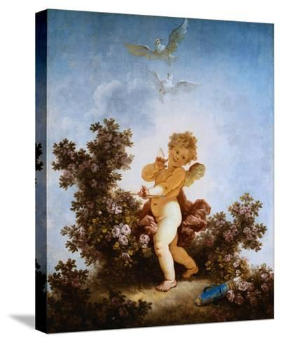Love the Sentinel-Jean-Honor? Fragonard-Stretched Canvas Print