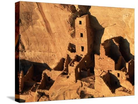 Four Story House in Cliff Palace-Joseph Sohm-Stretched Canvas Print