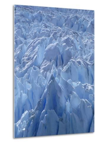 Close Up of Perito Moreno Glacier in Argentina-Joseph Sohm-Metal Print
