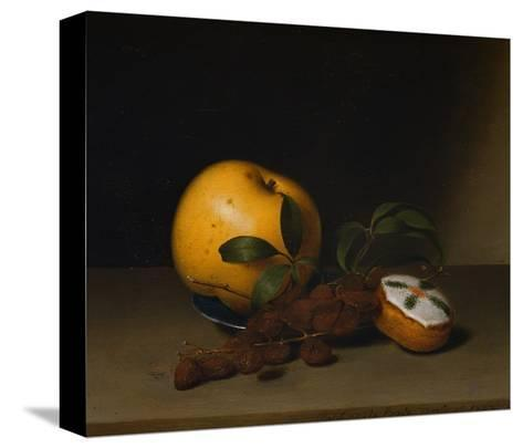 Still Life with Cake-Raphaelle Peale-Stretched Canvas Print