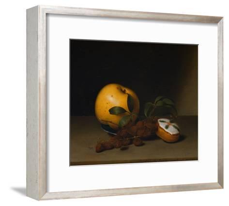 Still Life with Cake-Raphaelle Peale-Framed Art Print