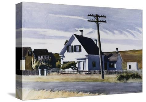 Lombard's House-Edward Hopper-Stretched Canvas Print
