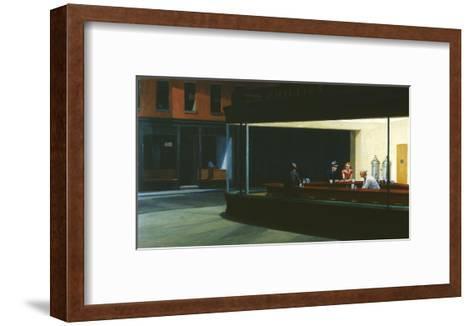 Nighthawks-Edward Hopper-Framed Art Print