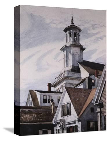 Methodist Church, Provincetown-Edward Hopper-Stretched Canvas Print