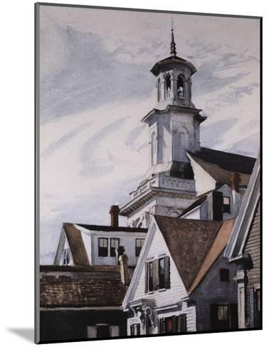 Methodist Church, Provincetown-Edward Hopper-Mounted Giclee Print