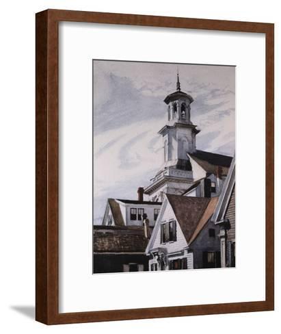 Methodist Church, Provincetown-Edward Hopper-Framed Art Print
