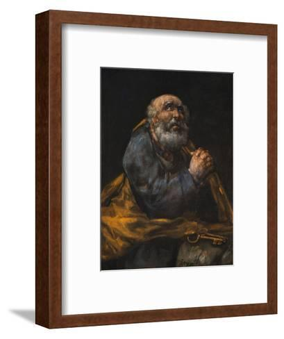 Saint Peter Repentant-Francis G^ Mayer-Framed Art Print