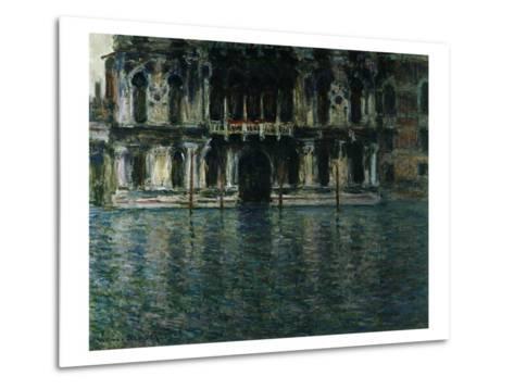 Contarini Palace, Venice-Claude Monet-Metal Print
