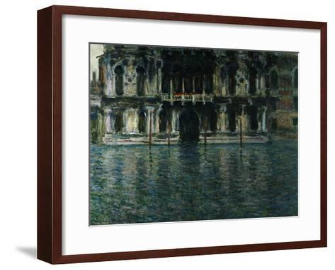 Contarini Palace, Venice-Claude Monet-Framed Art Print