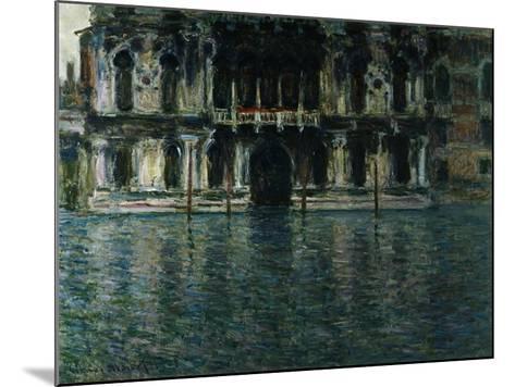 Contarini Palace, Venice-Claude Monet-Mounted Giclee Print