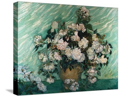 Roses-Vincent van Gogh-Stretched Canvas Print