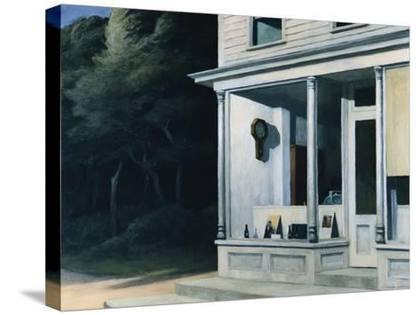 Seven A.M.-Edward Hopper-Stretched Canvas Print
