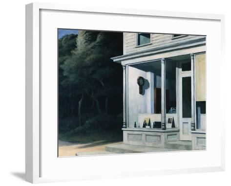 Seven A.M.-Edward Hopper-Framed Art Print