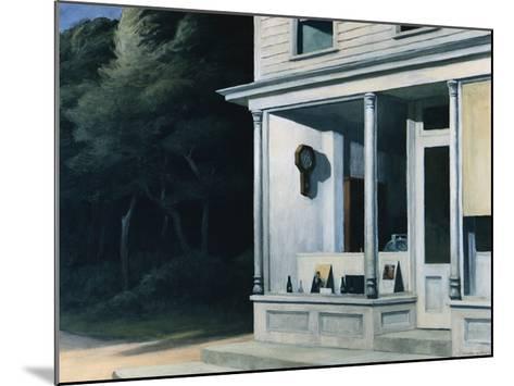 Seven A.M.-Edward Hopper-Mounted Giclee Print