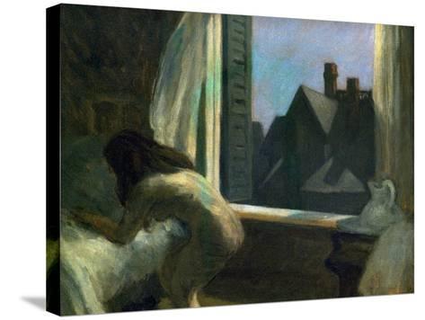 Moonlight Interior-Edward Hopper-Stretched Canvas Print