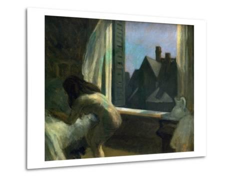 Moonlight Interior-Edward Hopper-Metal Print