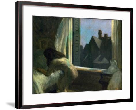 Moonlight Interior-Edward Hopper-Framed Art Print