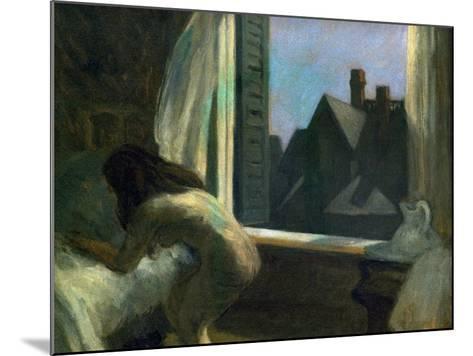 Moonlight Interior-Edward Hopper-Mounted Giclee Print