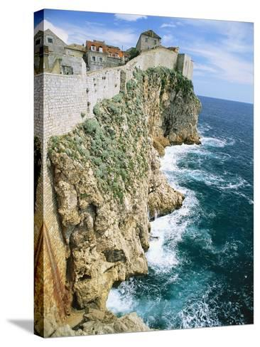 Walled Town of Dubrovnik on Dalmatian Coast-Macduff Everton-Stretched Canvas Print