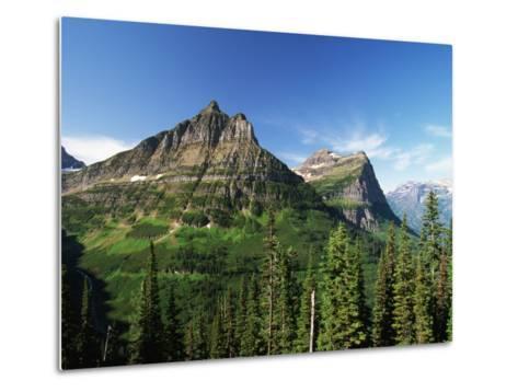 Glaciated Mountain Peaks-Neil Rabinowitz-Metal Print
