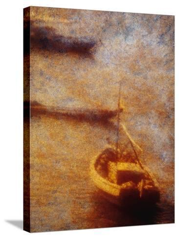 Boats-Andre Burian-Stretched Canvas Print