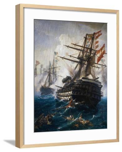 Seabattle by C. Bolanchi-Ali Meyer-Framed Art Print
