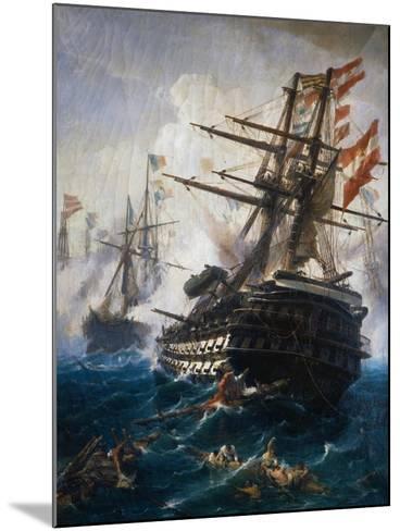 Seabattle by C. Bolanchi-Ali Meyer-Mounted Giclee Print