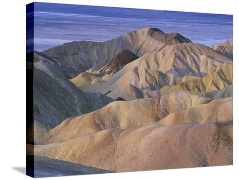 Death Valley Landscape-Bob Rowan-Stretched Canvas Print