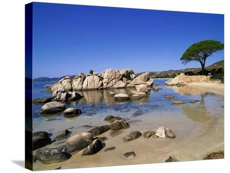 Palombaggia Beach-Christophe Boisvieux-Stretched Canvas Print