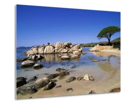 Palombaggia Beach-Christophe Boisvieux-Metal Print