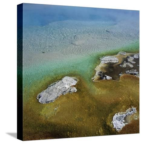 Islands Surrounded by Water Pollution--Stretched Canvas Print